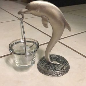 Other - Dolphin candle holder